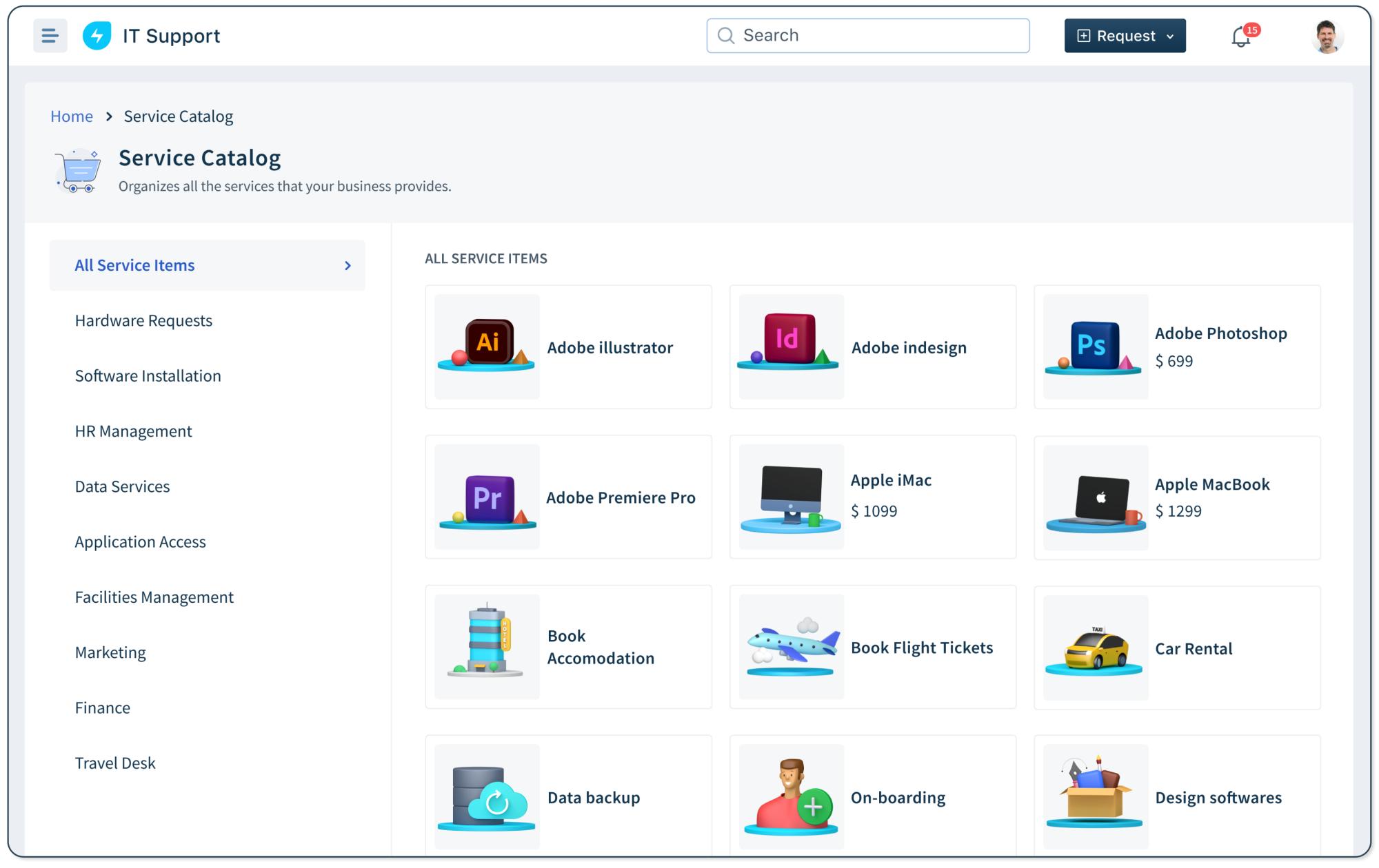 Freshservice-freshservice_service_catalog_screenshot