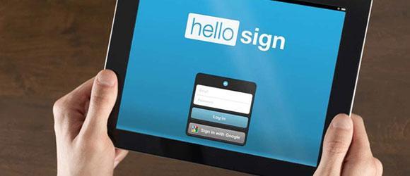 HelloSign: digitale Signaturen erstellen - Funktion & Alternativen