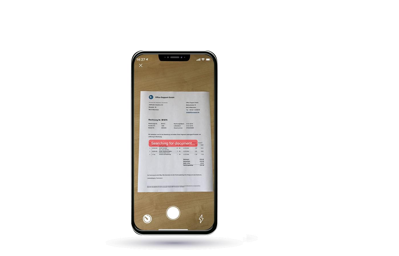Digitalisierung von unterwegs: Die JobRouter Scan-App