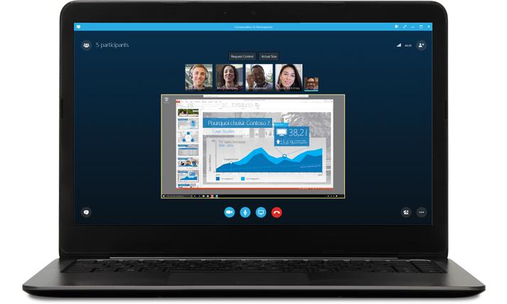 Online-Meetings mit Skype