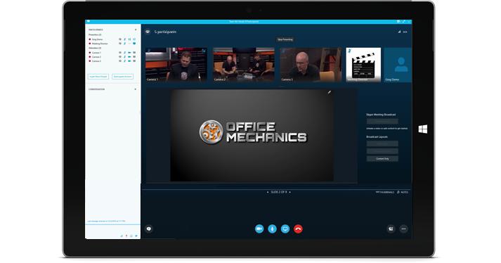 Verbreitung Treffen mit Skype
