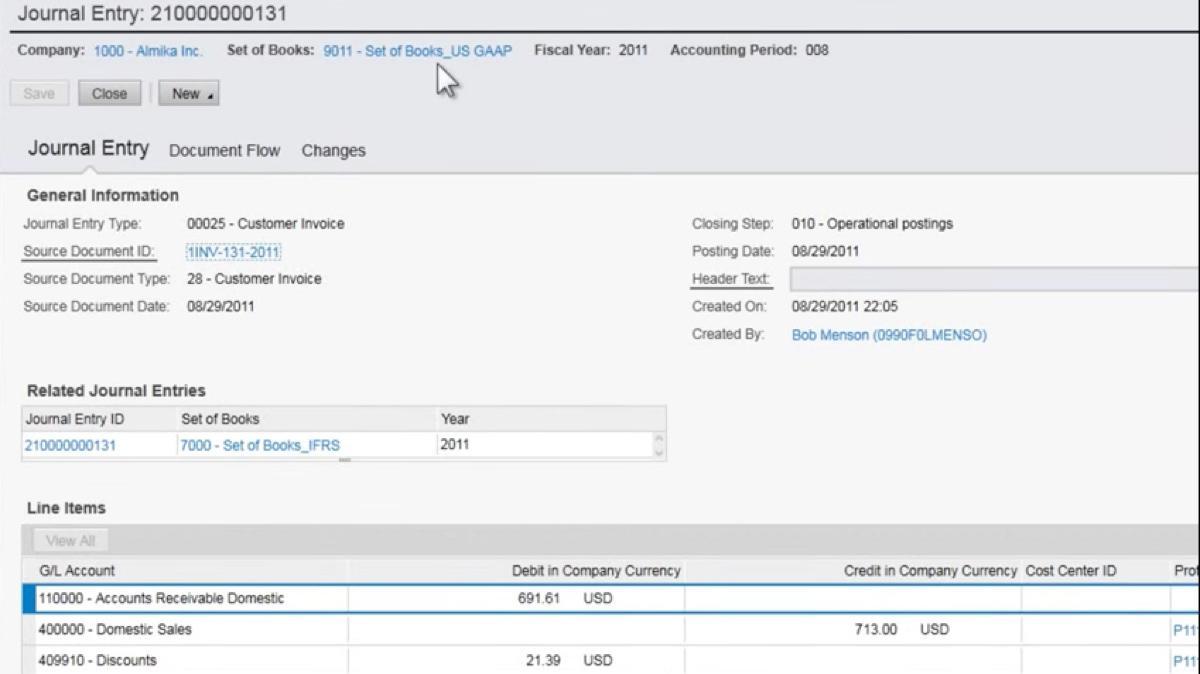 SAP Business ByDesign Salz-Dienstleistungen