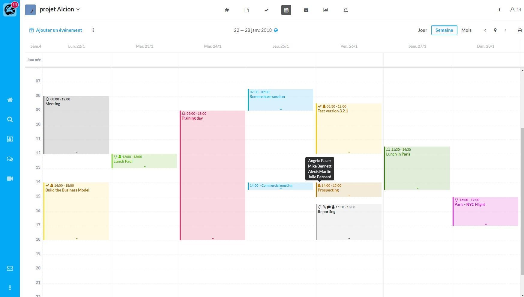 Gemeinsamer Kalender