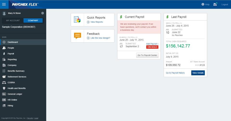 Paychex Flex-Screenshot-1