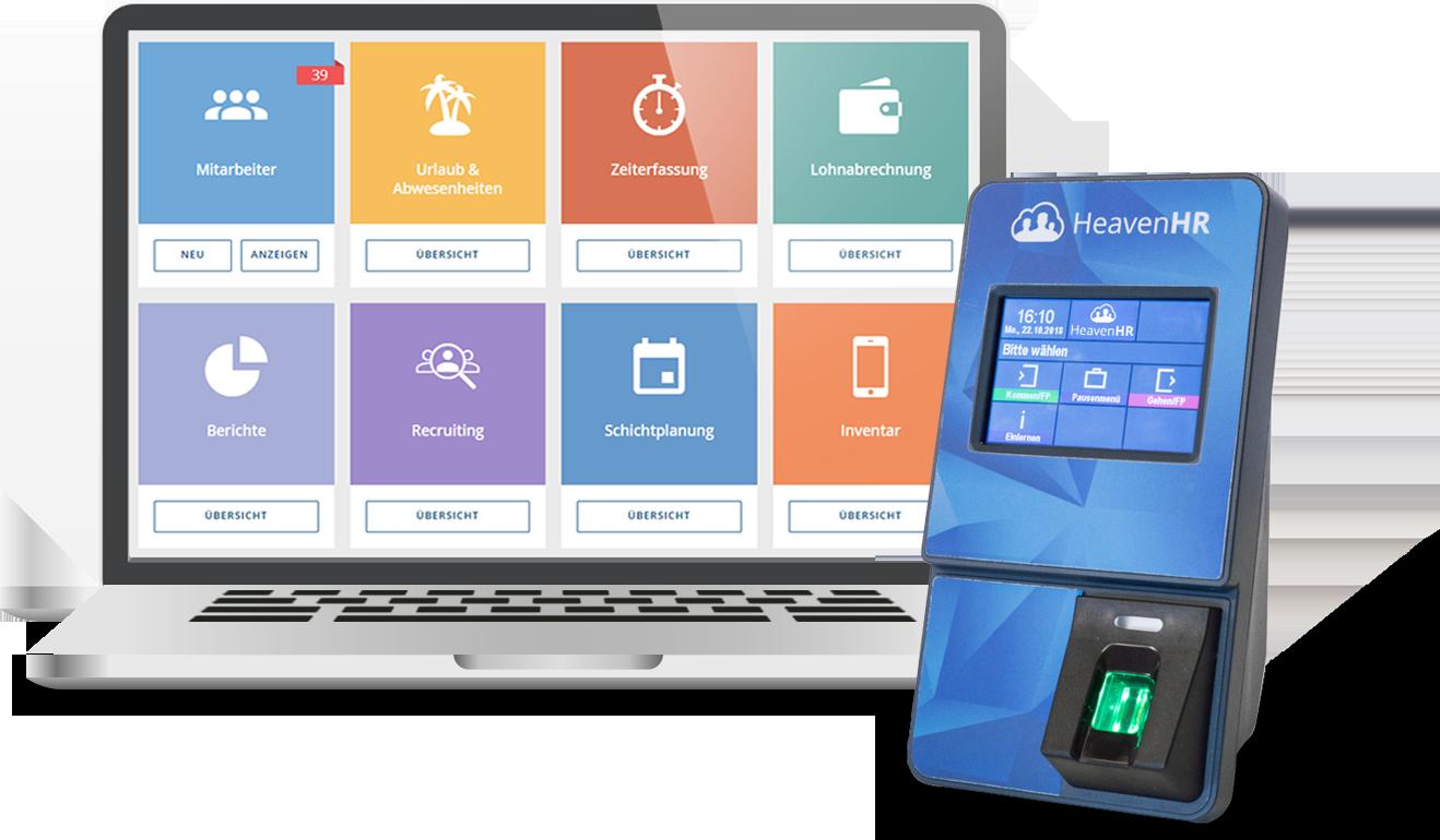 Bewertungen HeavenHR: HR-Software − Komplettlösung für das Personalmanagement - Appvizer