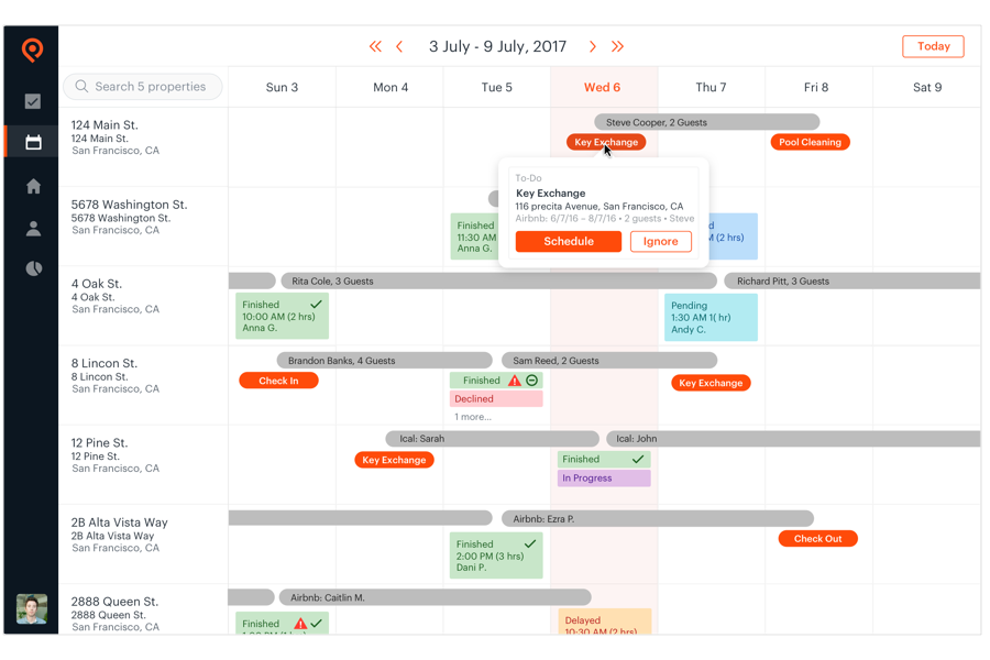 Richtig synchronisiert Kalender mit Ihrem Buchungskalender