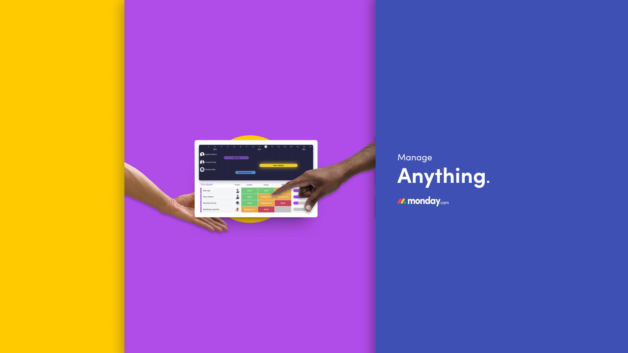 Bewertungen monday.com: Das Projektmanagement-Tool für Teamwork - appvizer