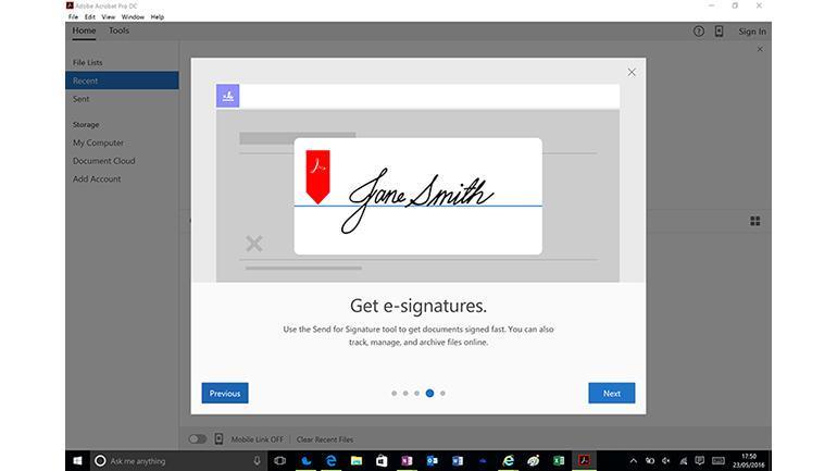 Bewertungen Adobe Sign: Adobe's Tool für die Erstellung digitaler Unterschriften - Appvizer