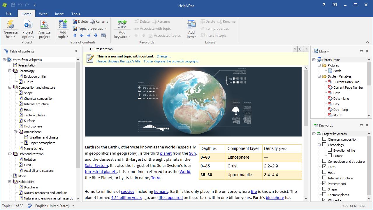 Bewertungen HelpNDoc: Dokumentations-Tool für die Erstellung mehrerer Formate - Appvizer