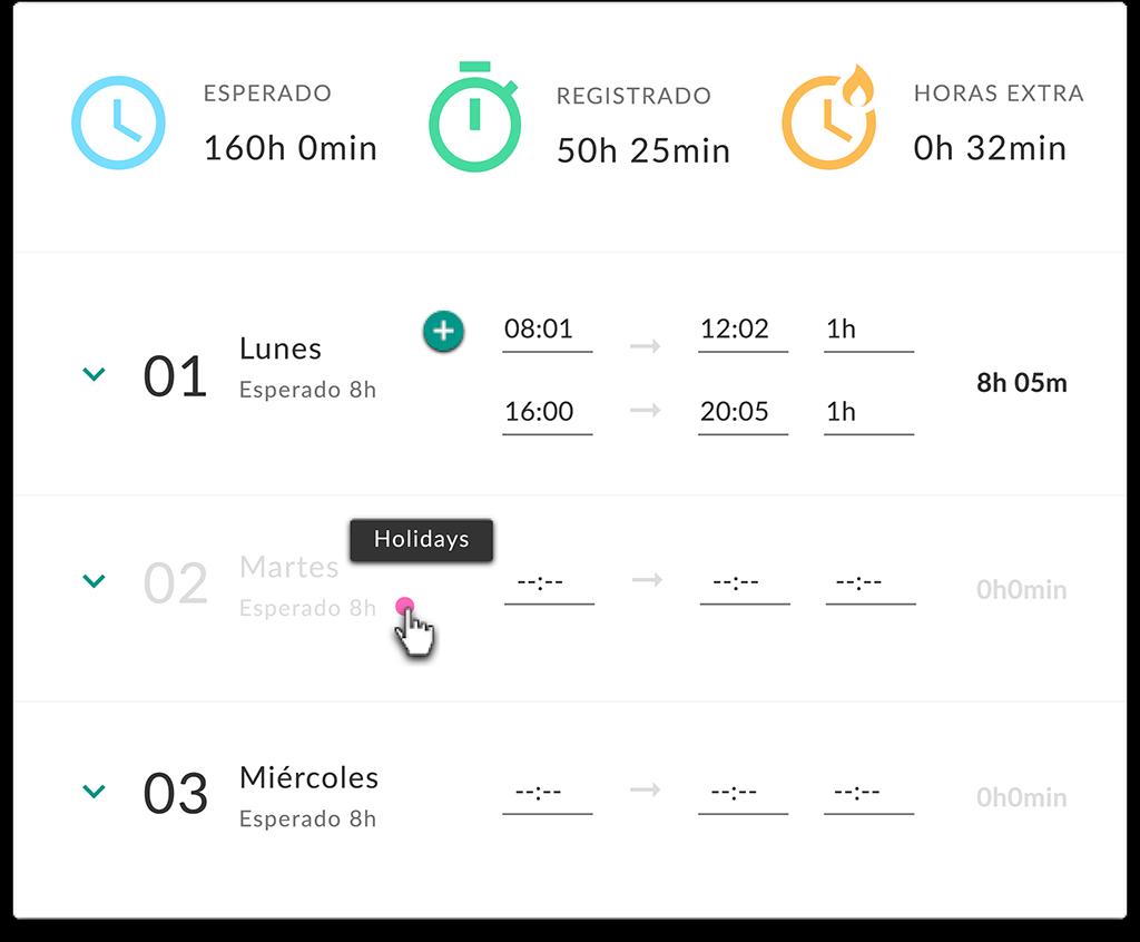 OrgOS-Control horario