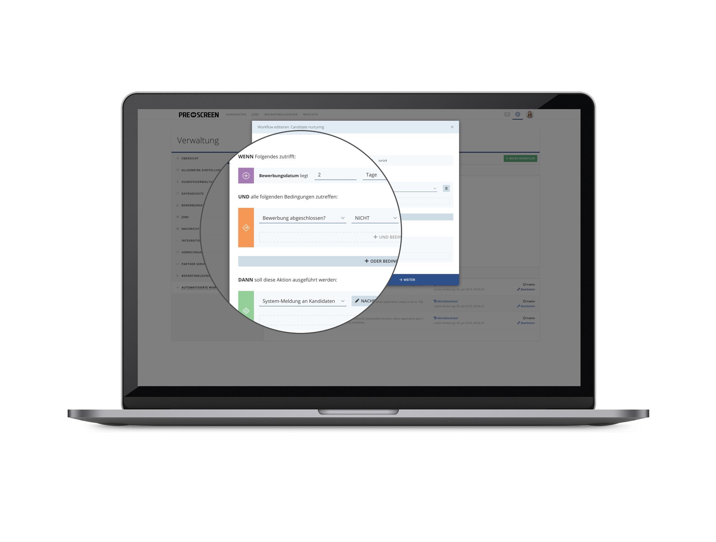 Mit Automated Workflows können Sie Ihre Prozesse individuell abbilden und diese Teil- oder Vollautomatisieren!