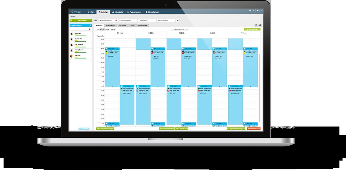Bewertungen ShiftJuggler: Personal- und Urlaubsplaner - Appvizer