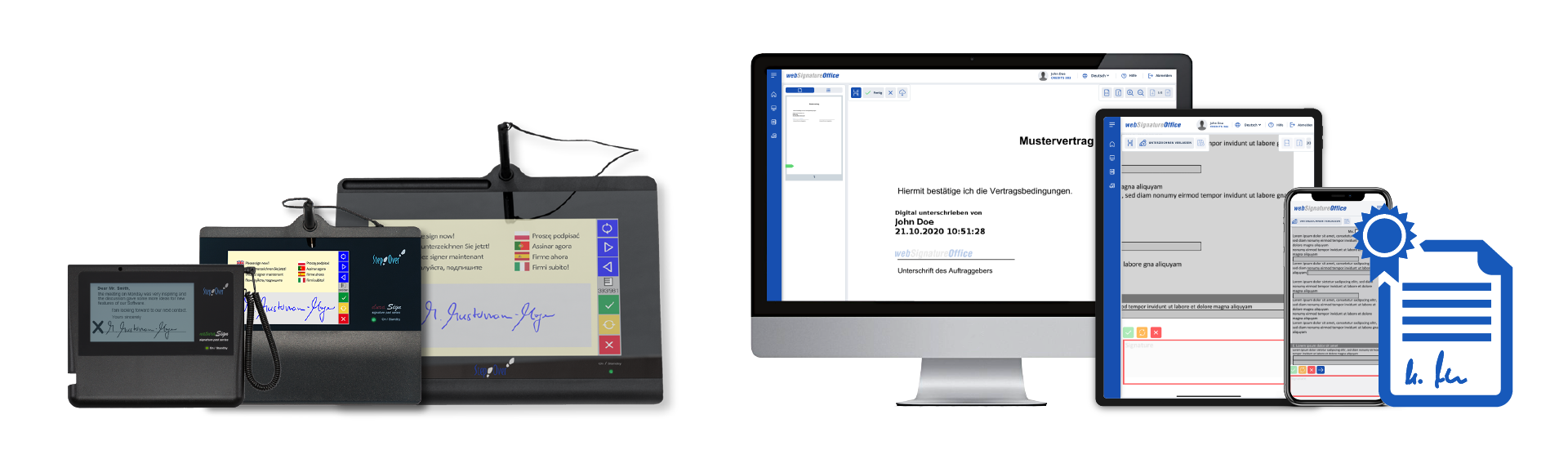 Bewertungen eSignatureOffice: PDF Dokumente elektronisch unterschreiben - appvizer