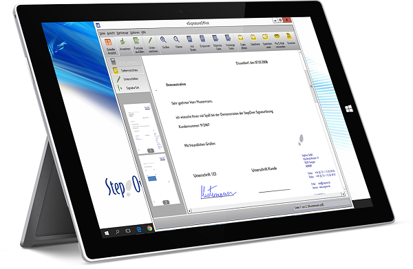 Elektronische Signatur - Die voll automatisierbare offline Signaturlösung