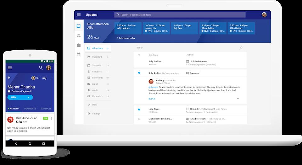 Bewertungen Google Hire: Das Recruiting-Tool für die G Suite - appvizer