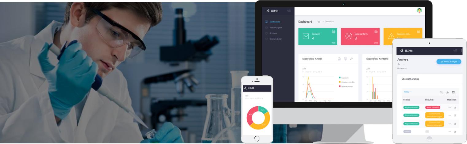 Bewertungen 1LIMS: Die Labor- und Qualitätssicherungssoftware - Appvizer