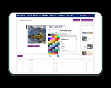 Product Builder Drag & Drop & Editieren