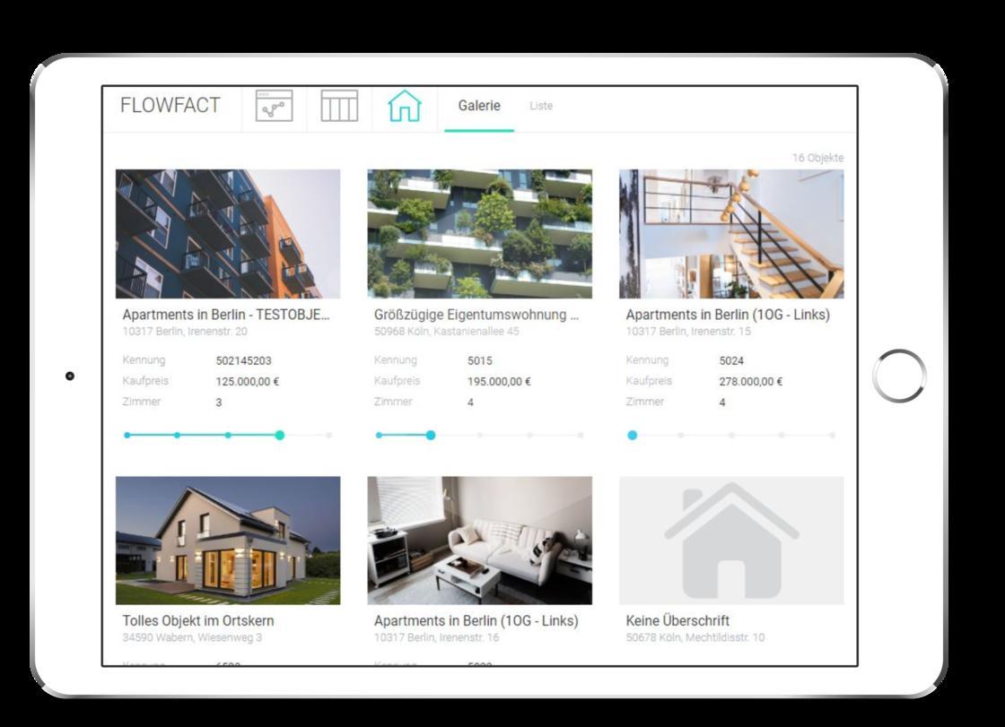 Bewertungen FLOWFACT: Maklersoftware für Vertrieb und Vermarktung von Immobilien - Appvizer
