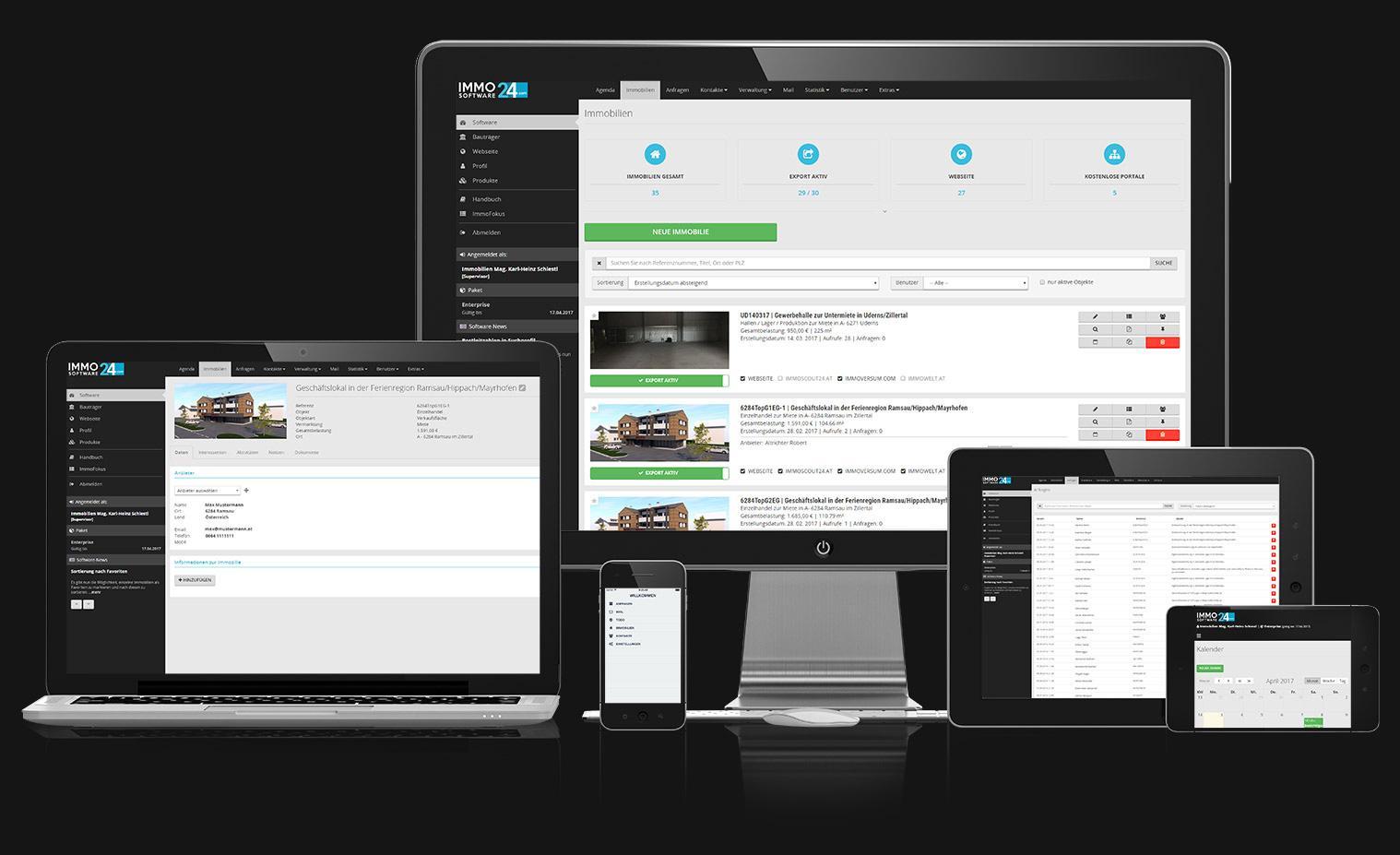 Bewertungen ImmoSoftware24: Kundenmanagement und Objektverwaltung für Makler - appvizer