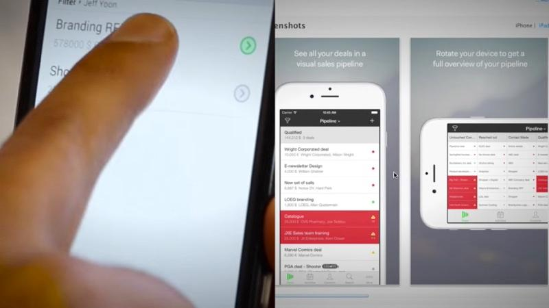 PipeDrive ist ein Online-CRM, die mobile Anwendungen bietet