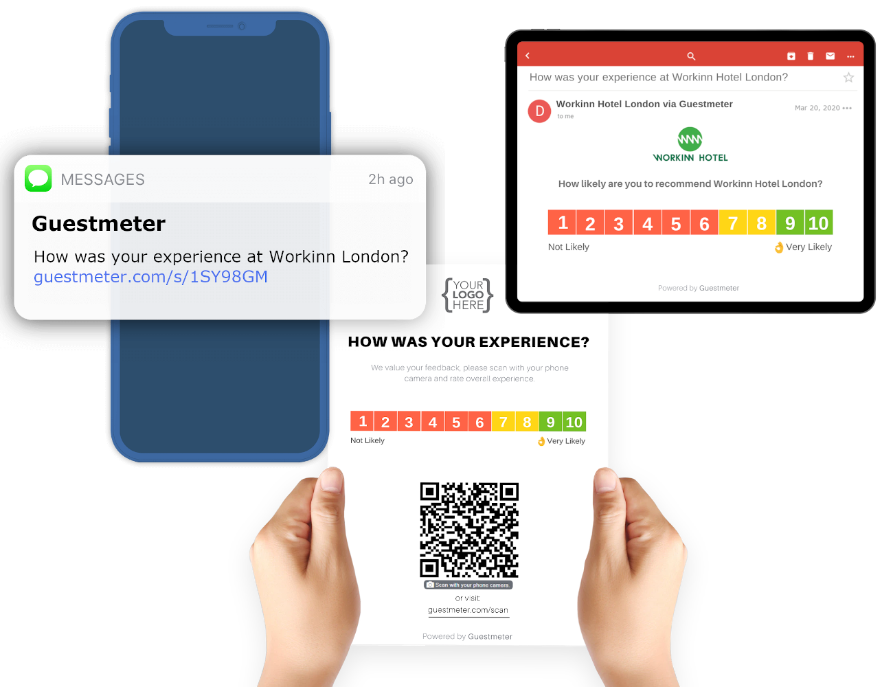 Software zur Verwaltung von Gästefeedbacks