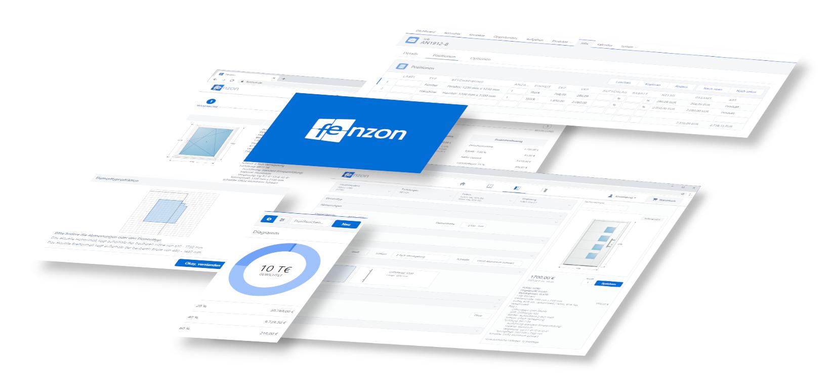 Bewertungen Fenzon: Software für Bauelemente - Appvizer
