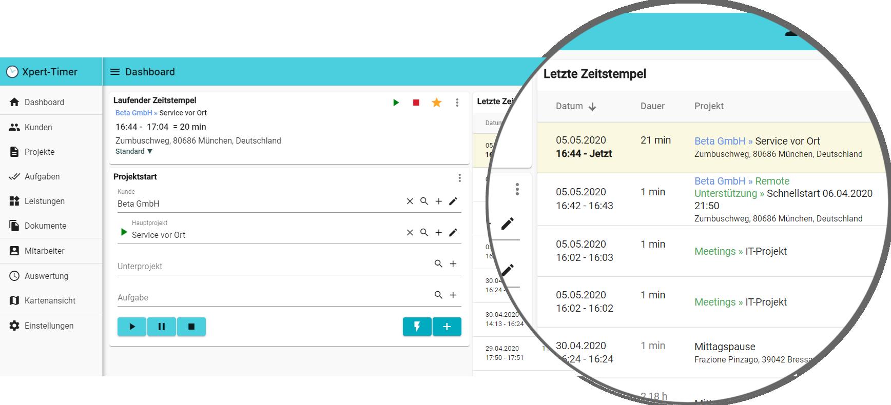 Bewertungen Xpert-Timer: Projektzeiterfassung die Sie überzeugen wird - Appvizer