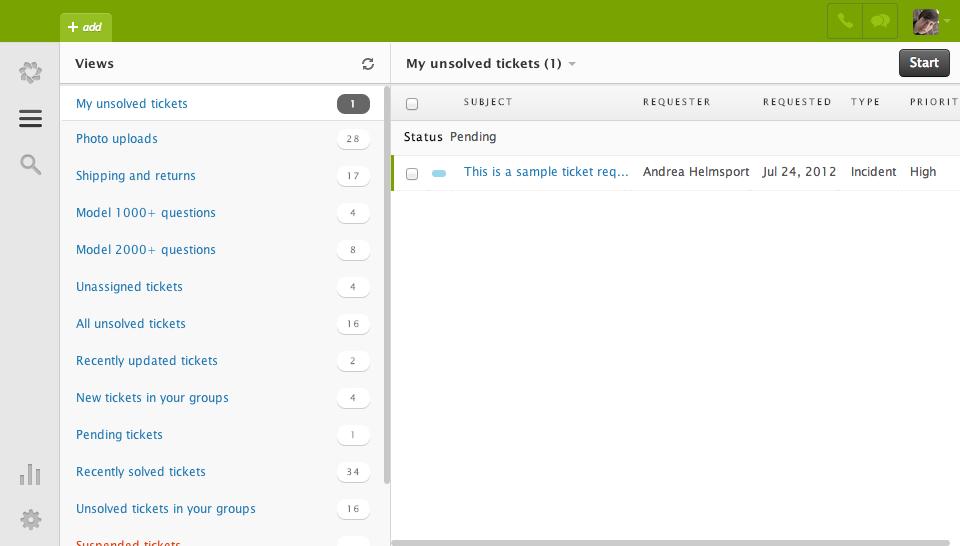 Zendesk: Mapping der Domainname, Kundenprofil, Case Management