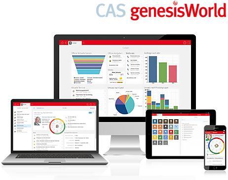 Perfektionieren Sie Ihr Kundenmanagement mit CAS genesisWorld