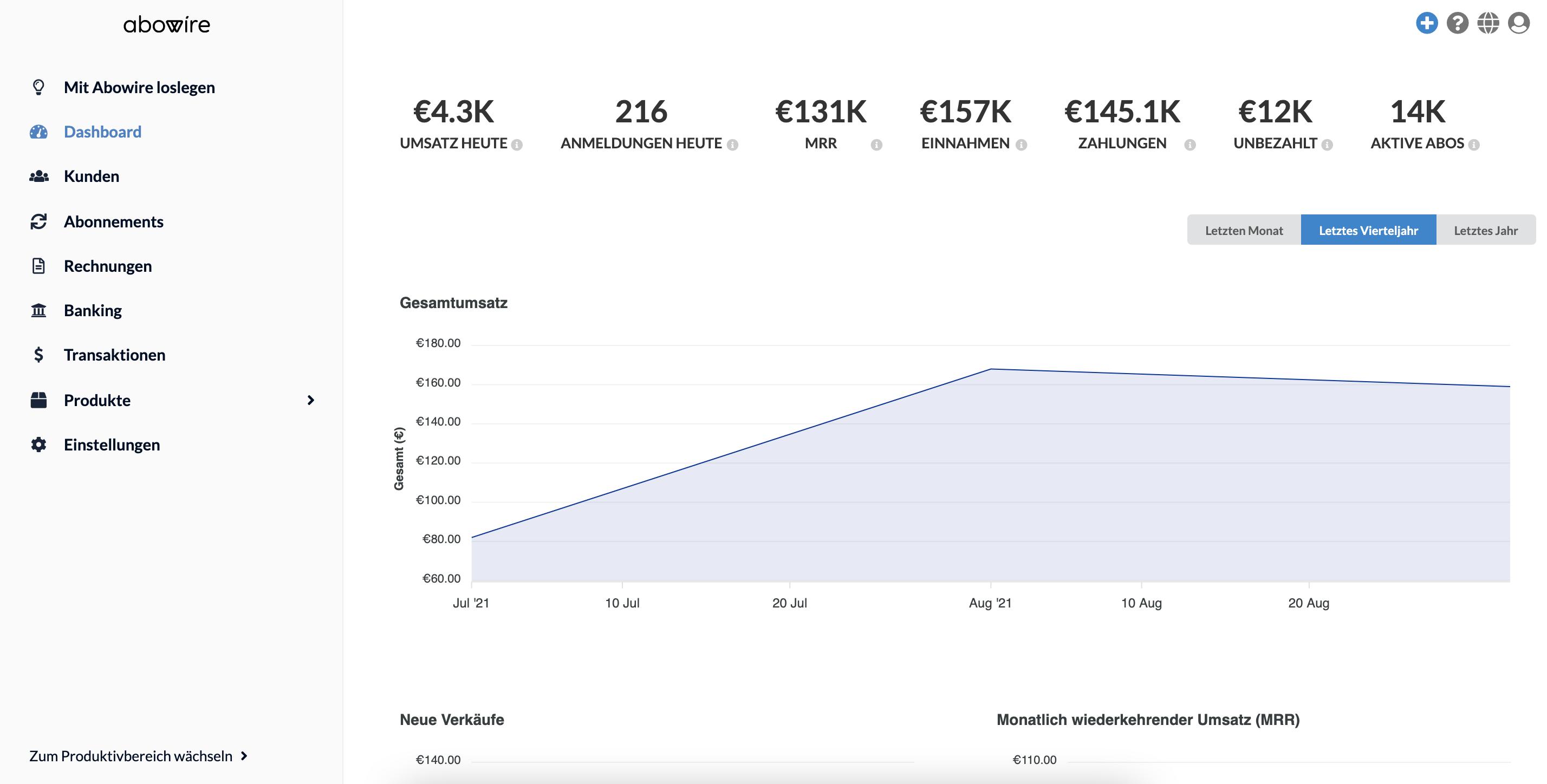 Bewertungen Abowire: Die Abo-Plattform für EU-Unternehmen - appvizer