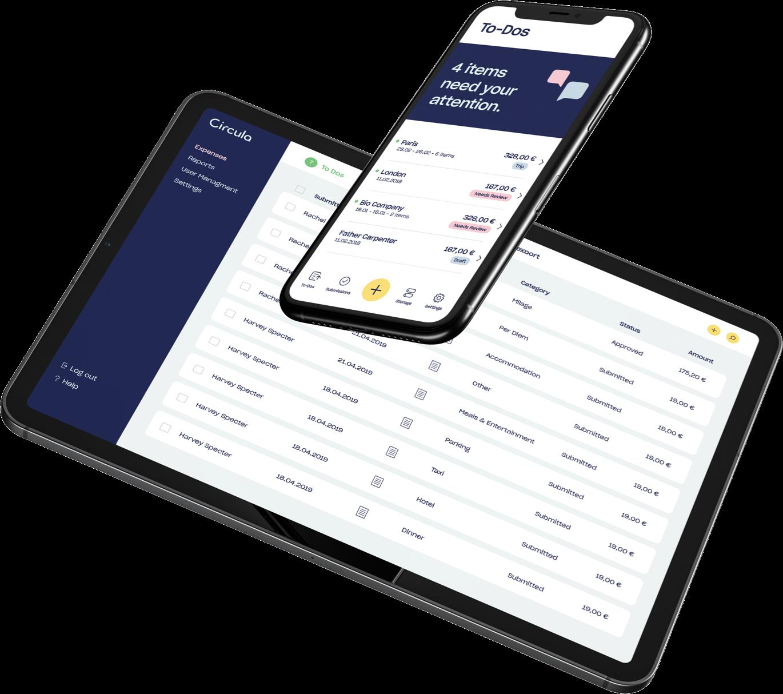 Bewertungen Circula: Eine intelligente Spesen-App mit zahlreichen Funktionen - appvizer