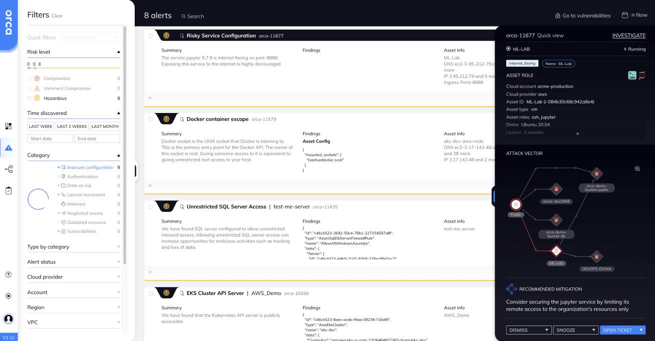 Orca Security-orca-dashboard