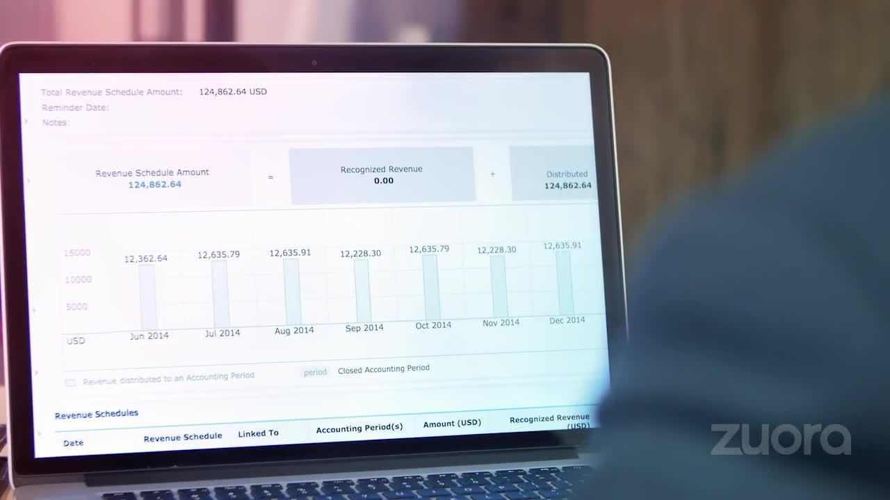 Bewertungen Zuora: Verwaltung wiederkehrender Einkünfte durch Abonnement - appvizer