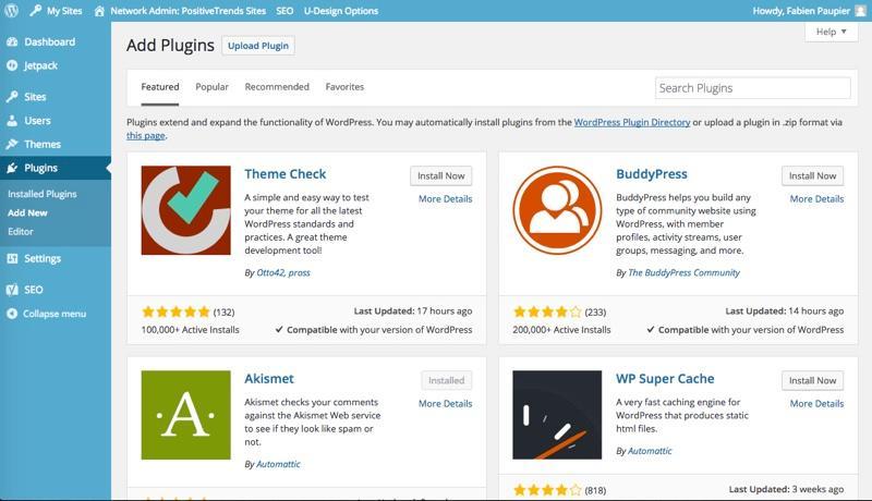 Wordpress: Fotos und Videos veröffentlichen