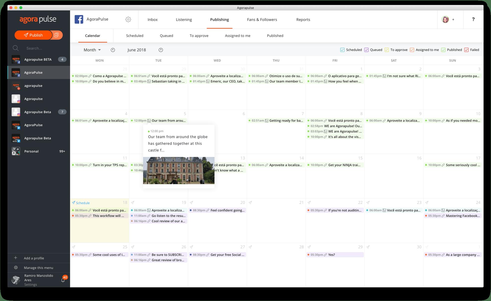 Ihr Publikationszeitplan