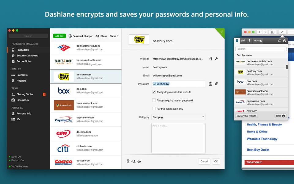 Dashlane for Business-2-Screenshot