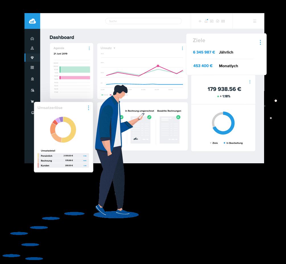 Bewertungen Suite CRM Sellsy: Alle CRM Funktionen in nur einem Programm - Appvizer
